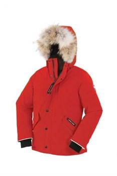 Юниорская куртка Canada Goose Boys Logan Parka, Red (распродано) - фото 4972