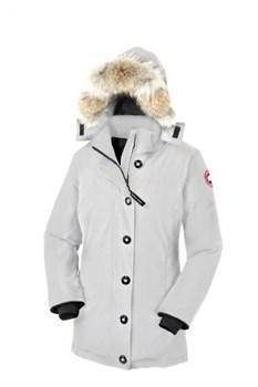 Женская куртка Canada Goose Dawson Parka Light Grey (распродано) - фото 4993