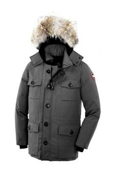 Мужская куртка Canada Goose Banff, MidGrey (распродано) - фото 5016