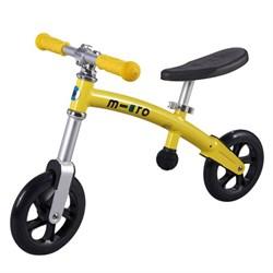 Беговел Micro G-bike+Light Yellow (распродано) - фото 5156