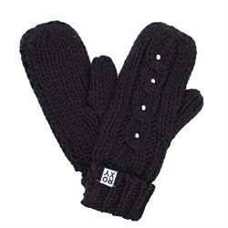 ROXY	SHOOTING STAR MITTENS, TRUE BLACK - фото 5342