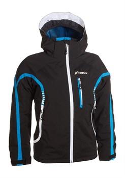 Подростковая куртка PHENIXLightning Jacket Junior, Black - фото 5538