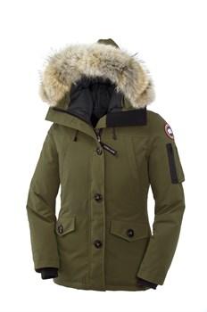 Женская куртка Canada GooseMONTEBELLO PARKA, Military Green - фото 5655
