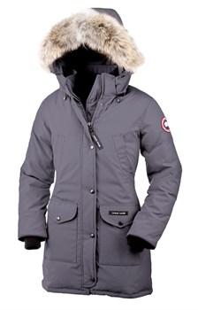 Женская куртка Canada GooseTrillium Parka MidGrey (распродано) - фото 5766