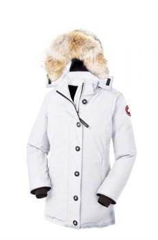 Женская куртка Canada Goose Dawson Parka White (распродано) - фото 5768