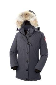 Женская куртка Canada Goose Dawson Parka Graphite (распродано) - фото 5770