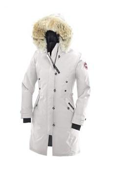Женская куртка Canada Goose Kensington Parka, Light Grey - фото 5772