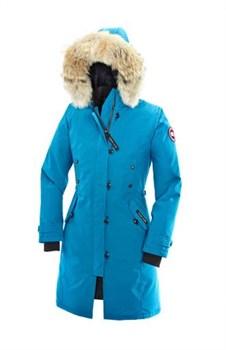 Женская куртка Canada Goose Kensington Parka, Blue topaz (распродано) - фото 5774