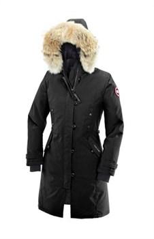 Женская куртка Canada Goose Kensington Parka, Black - фото 5778
