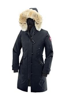 Женская куртка Canada Goose Kensington Parka, Navy (распродано) - фото 5780