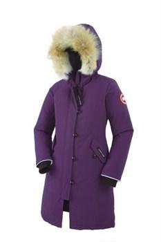 Юниорская куртка Canada Goose Girls Brittania Parka, Arctic Duck (распродано) - фото 5793