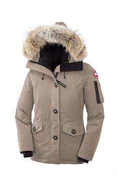 Женская куртка Canada GooseMONTEBELLO PARKA Tan - фото 5797