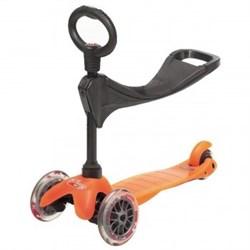 Детский самокат Mini Micro 3 in 1, Orange - фото 5971