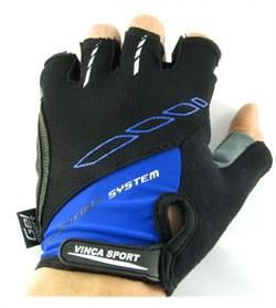 Мужские велосипедные перчатки, VG 925 black/ blue - фото 6031
