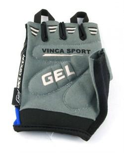 Мужские велосипедные перчатки, VG 925 black/ blue - фото 6032