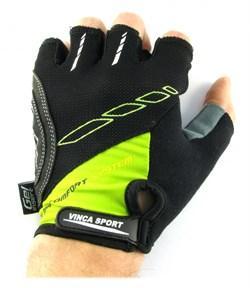Мужские велосипедные перчатки, VG 925 black/green - фото 6035