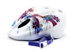 Детский велошлем Vinca sport, VSH 5 flowers - фото 6074