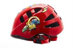 Детский велошлем Vinca sport, VSH 8 cars - фото 6092