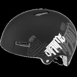 Парковый шлем Alpina AIRTIME, BLACK-WHITE MATT - фото 6145