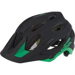 Летний шлем Alpina CARAPAX, BLACK-GREEN (распродано) - фото 6166