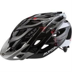Летний шлем Alpina D-ALTO BLACK-DARKSILVER-RED - фото 6167