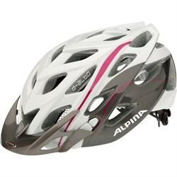 Летний шлем Alpina D-ALTO WHITE-TITANIUM-PURPLE - фото 6169