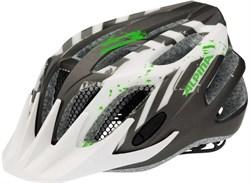 Юниорский шлем Alpina FB JR 2.0 FLASH ANTHRACITE-WHITE-GREEN - фото 6180