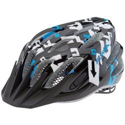 Юниорский шлем Alpina FB JR BLACK-WHITE-BLUE (распродано) - фото 6181