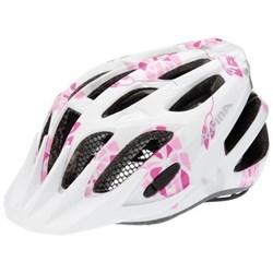 Юниорский шлем Alpina FB JR WHITE-PINK - фото 6185
