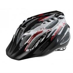 Юниорский шлем Alpina FB JR BLACK-WHITE-RED (распродано) - фото 6187
