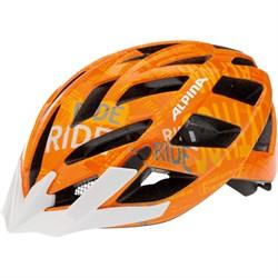 Летний шлем Alpina PANOMA ORANGE-TYPO (распродано) - фото 6222