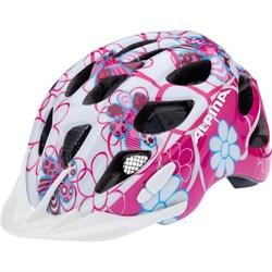 Детский шлем Alpina ROCKY PINK-LIGHTBLUE FLOWERS (распродано) - фото 6225