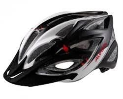 Летний Шлем Alpina SKID 2.0 BLACK-WHITE-RED - фото 6228