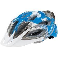 Летний Шлем Alpina SKID 2.0 DARKSILVER-CYAN-WHITE - фото 6230