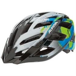 Летний шлем Alpina PANOMA WHITE-CYAN-GREEN - фото 6233