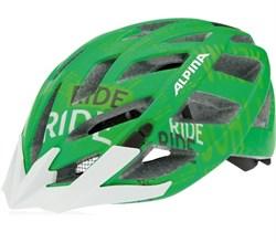 Летний шлем Alpina PANOMA L.E. GREEN TYPO (распродано) - фото 6296