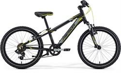 Детский велосипед Merida Matts J20, Matt Black (yellow/grey) (распродано) - фото 6360