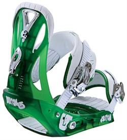 Сноубордические крепления BURTON Custom, Green (распродано) - фото 6432