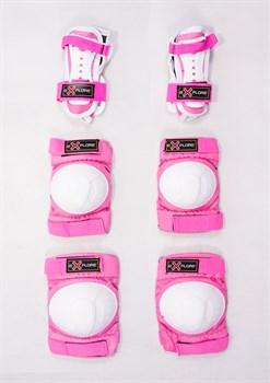 Набор детской защиты Explore AMZ-300, розовый (распродано) - фото 6502