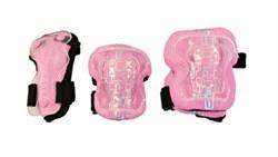 Набор детской защиты Explore Swift, розовый - фото 6507