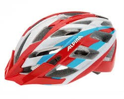 Летний шлем Alpina Tour Panoma, red-silver-blue - фото 6513