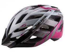 Летний шлем Alpina PANOMA, pearlwhite-magenta - фото 6519