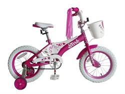 Детский велосипед, StarkTanuki 14 Girl, pink - фото 6572
