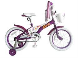 Детский велосипед StarkTanuki 16 Girl, violet - фото 6573