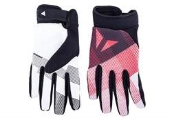 Перчатки велосипедные Dainese Guanto Rock solid, Bianco/Rosso/Nero - фото 6615