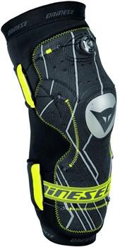 Защита коленей алюминиевая/ BOA фиксация Dainese Oak Pro Knee Guard Aluminium, Black - фото 6632