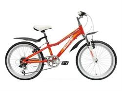 Подростковый велосипед Stark Bliss Girl 20, оранжевый/желтый - фото 6689