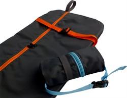 Чехол-рюкзак для самоката ST 13, черный с оранжевым - фото 6747