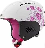 Детский шлем AlpinaJUNIOR CARAT L.E. , White/Pink/Matt (распродано) - фото 6963