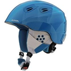 Детский шлем Alpina GRAP 2.0 JR, Blue/White - фото 6981